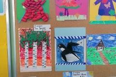 prace plastyczne wykonane przez uczniów